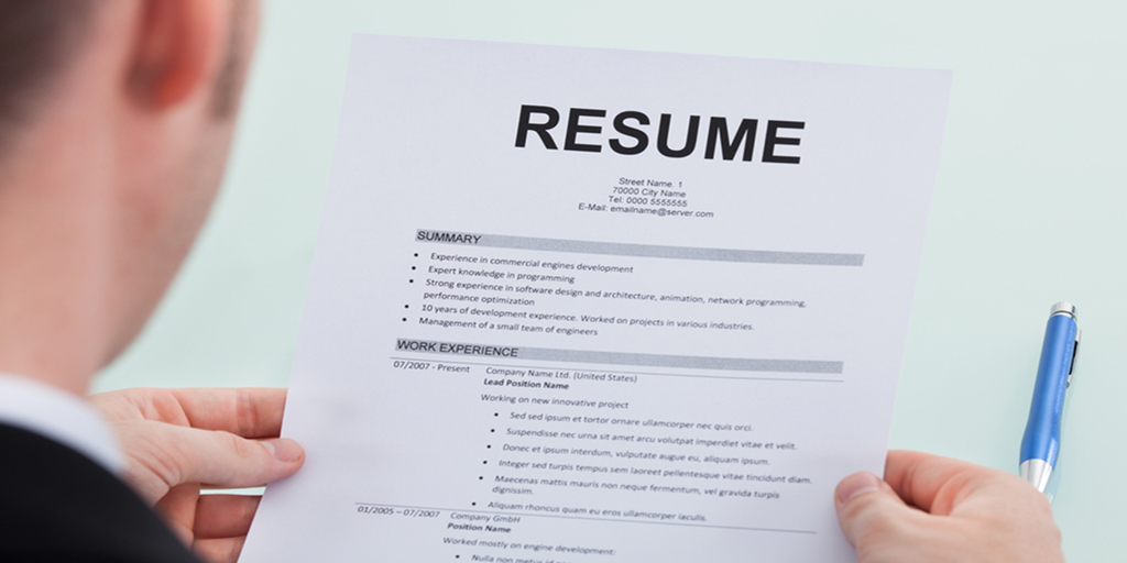 10 tips for creating a resumes